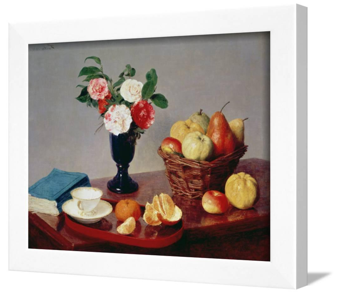 Latour Wall Decor Regarding Best And Newest Still Life, 1866 Framed Print Wall Arthenri Fantin Latour – Walmart (Gallery 13 of 20)