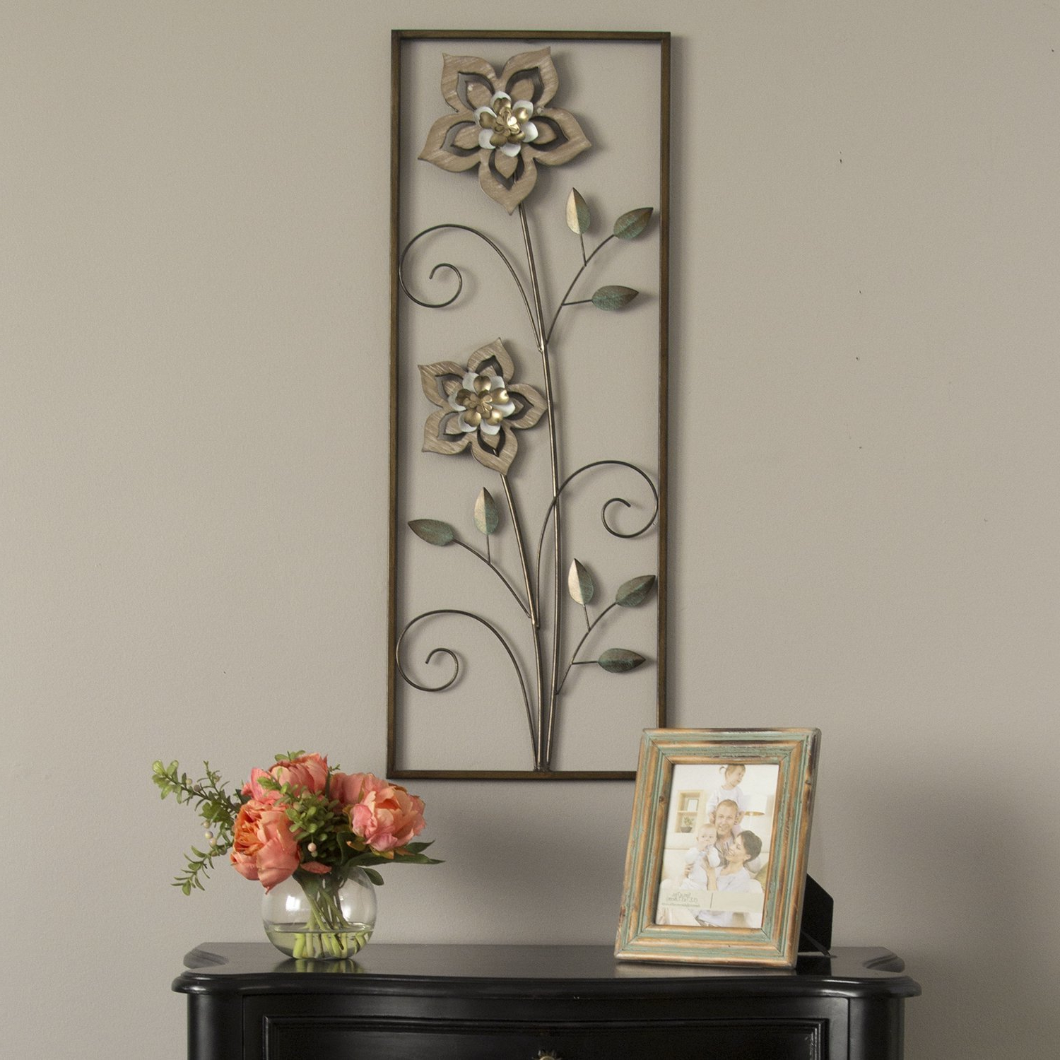 Maxwell Wood And Metal Wall Decor Within 2019 Wood Flower Panel Wall Décor (View 12 of 20)