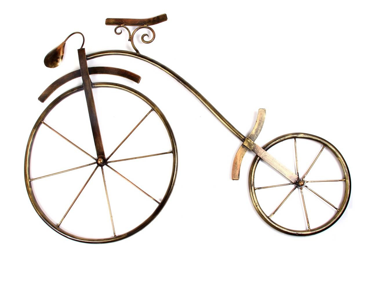 Metal Bicycle Wall Decor With Regard To 2019 Buy Shivay Arts Contemporary Metal Iron Cycle Bicycle Wall Decor (View 16 of 20)