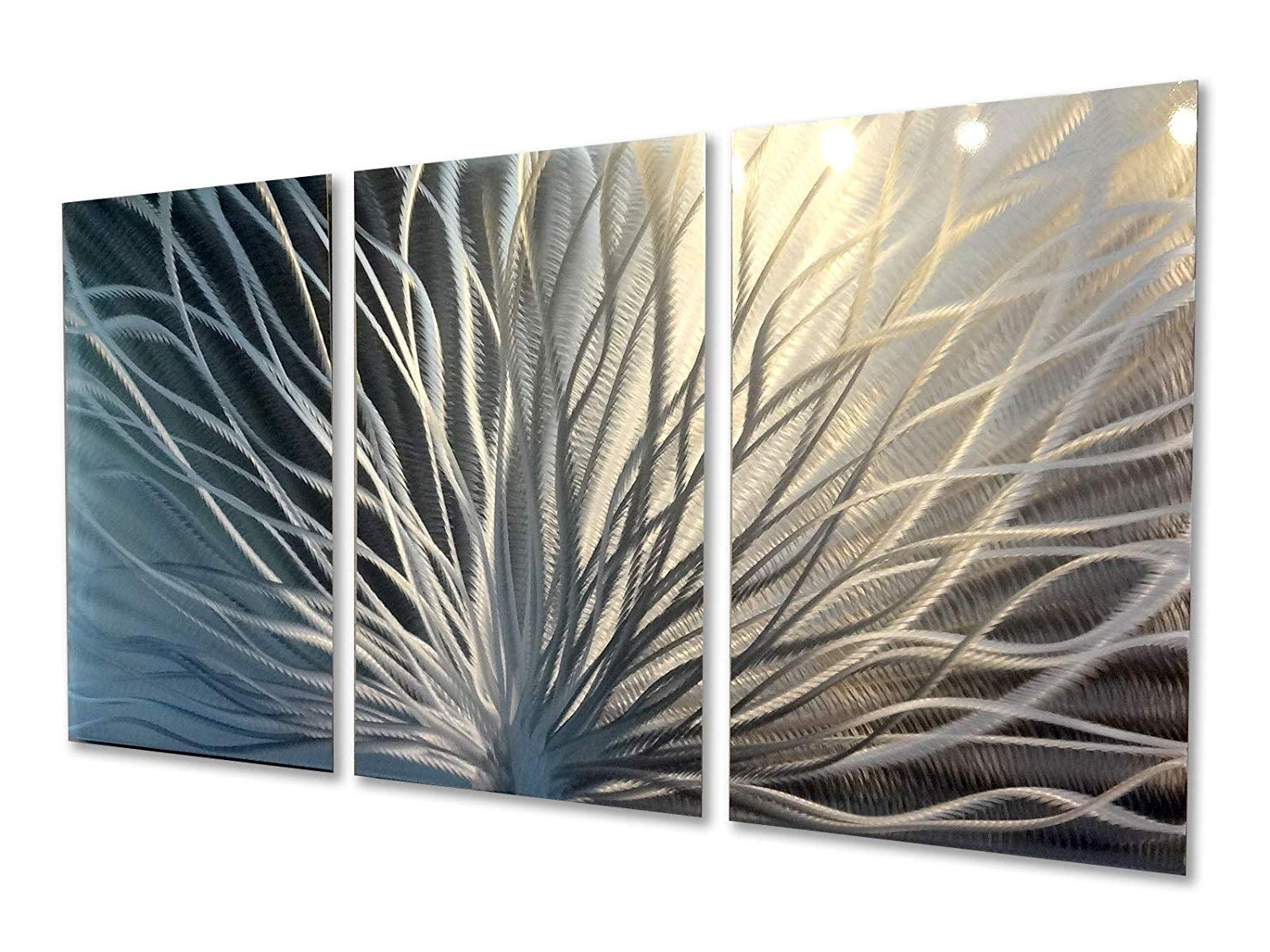 Metal Wall Art, Modern Home Decor, Abstract Wall Sculpture Regarding Well Liked Contemporary Forest Metal Wall Decor (View 4 of 20)