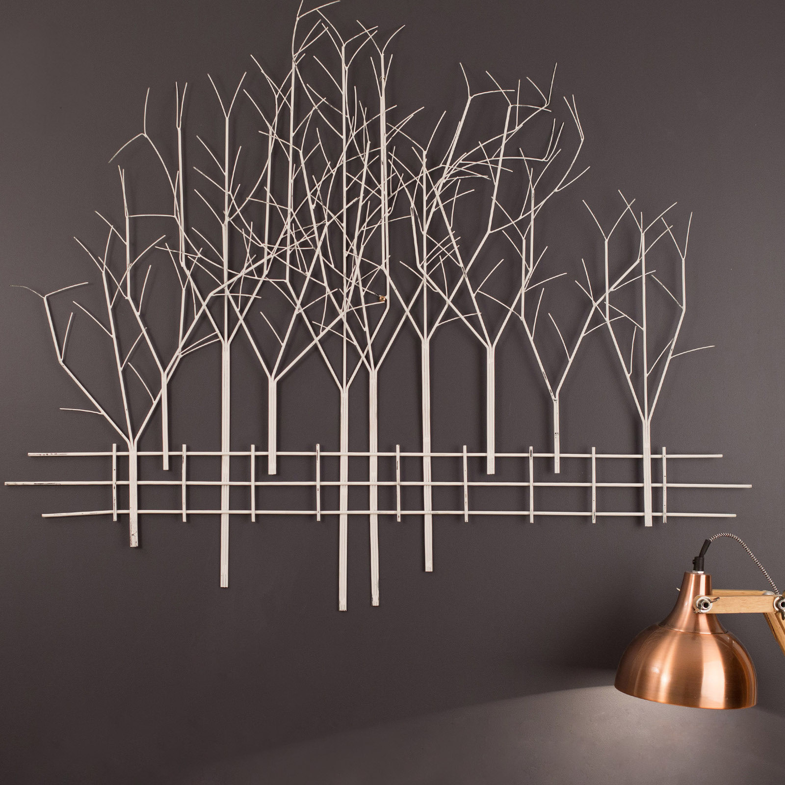 Modern – Vintage – Indoor – Outdoor Within Contemporary Forest Metal Wall Decor (Gallery 19 of 20)