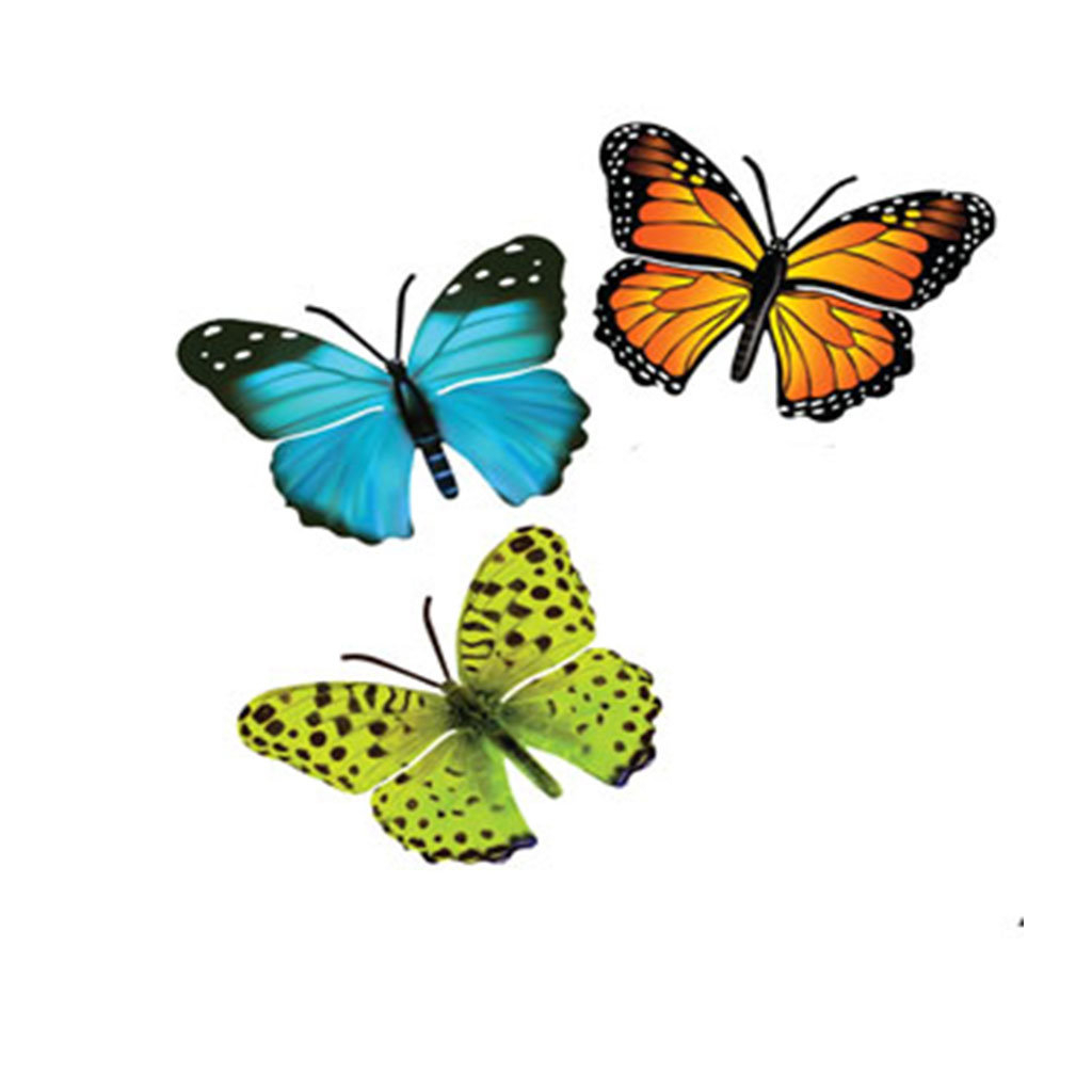 Most Current August Grove 3 Piece Butterfly Wall Decor Set & Reviews (View 6 of 20)