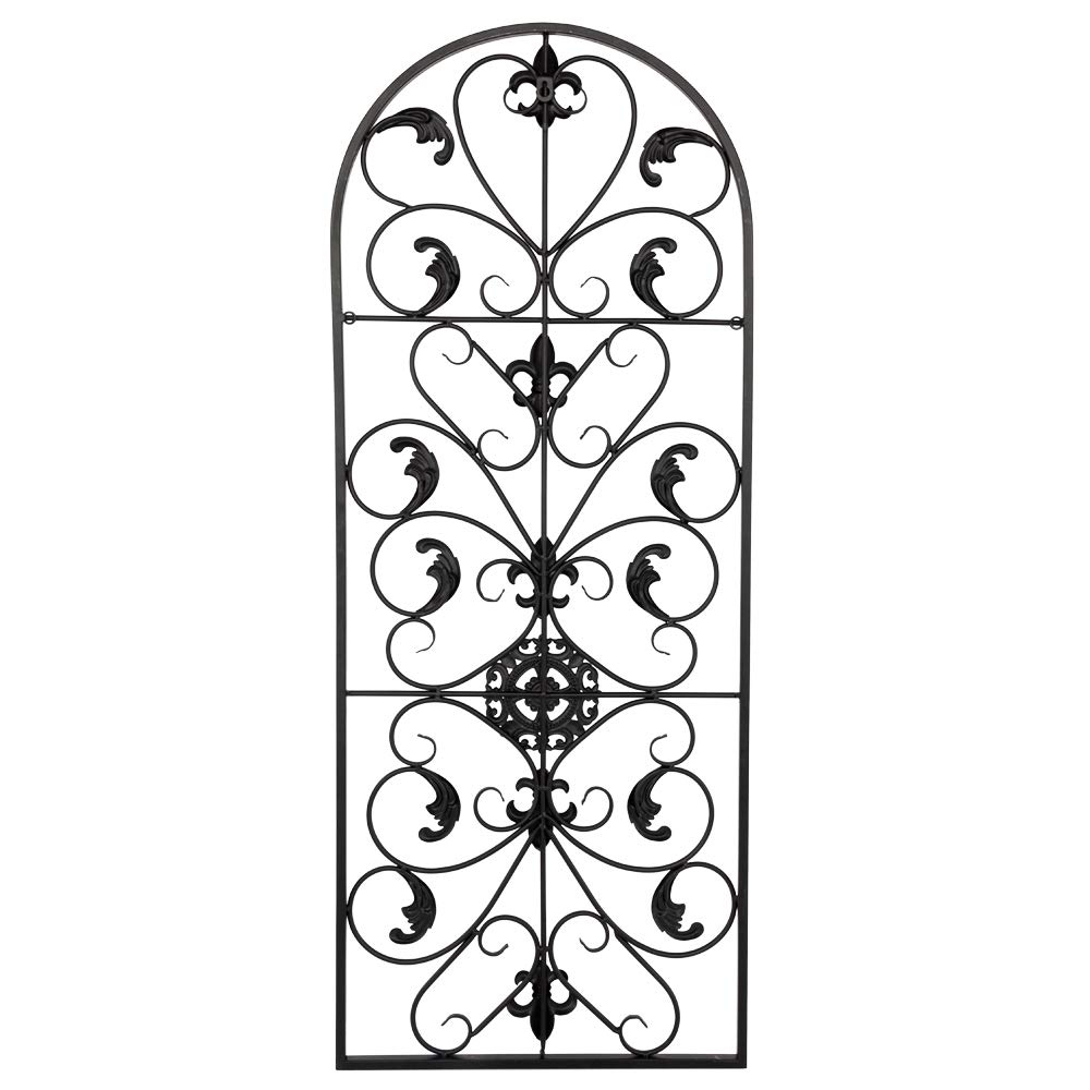 "Most Recent Amazon: 41"" Metal Wall Decor Retro Decorative Spanish Arch Wall Intended For Spanish Ornamental Wall Decor (View 3 of 20)"