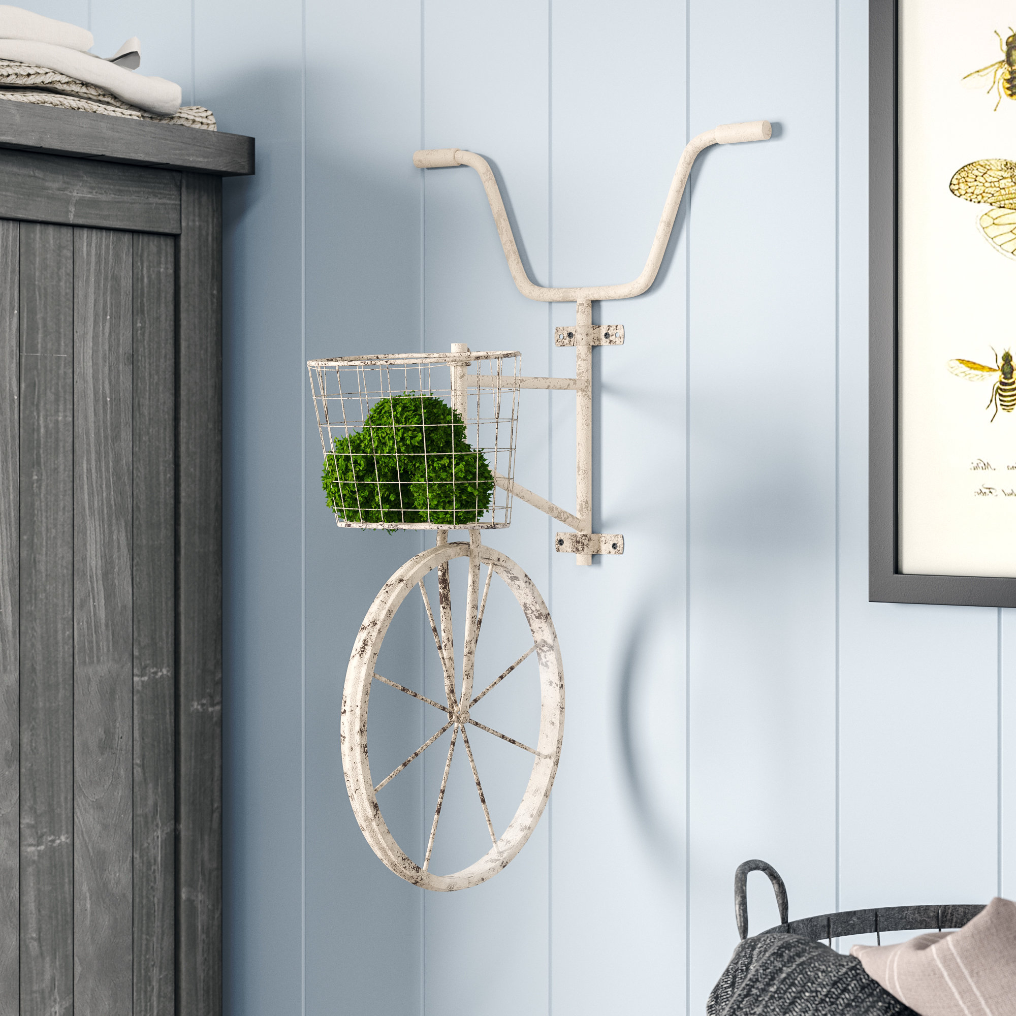 Most Recently Released Metal Bicycle Wall Decor Inside August Grove Metal Bicycle Wall Décor & Reviews (View 15 of 20)