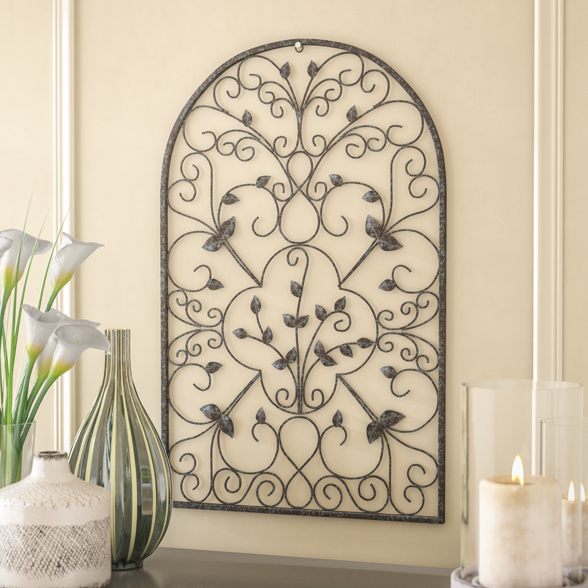 Most Recently Released Spanish Ornamental Wall Decor Regarding Fleur De Lis Living Spanish Ornamental Wall Décor & Reviews (Gallery 1 of 20)