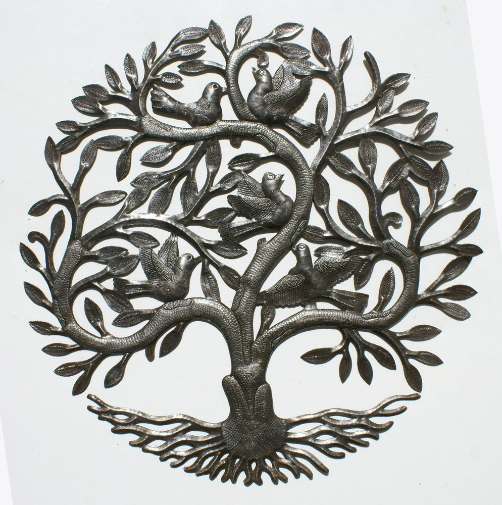 Most Up To Date Windswept Tree Wall Decor By World Menagerie Pertaining To Tree Of Life Large Wall Art Metal Wall Decor Wall Decorations (Gallery 13 of 20)
