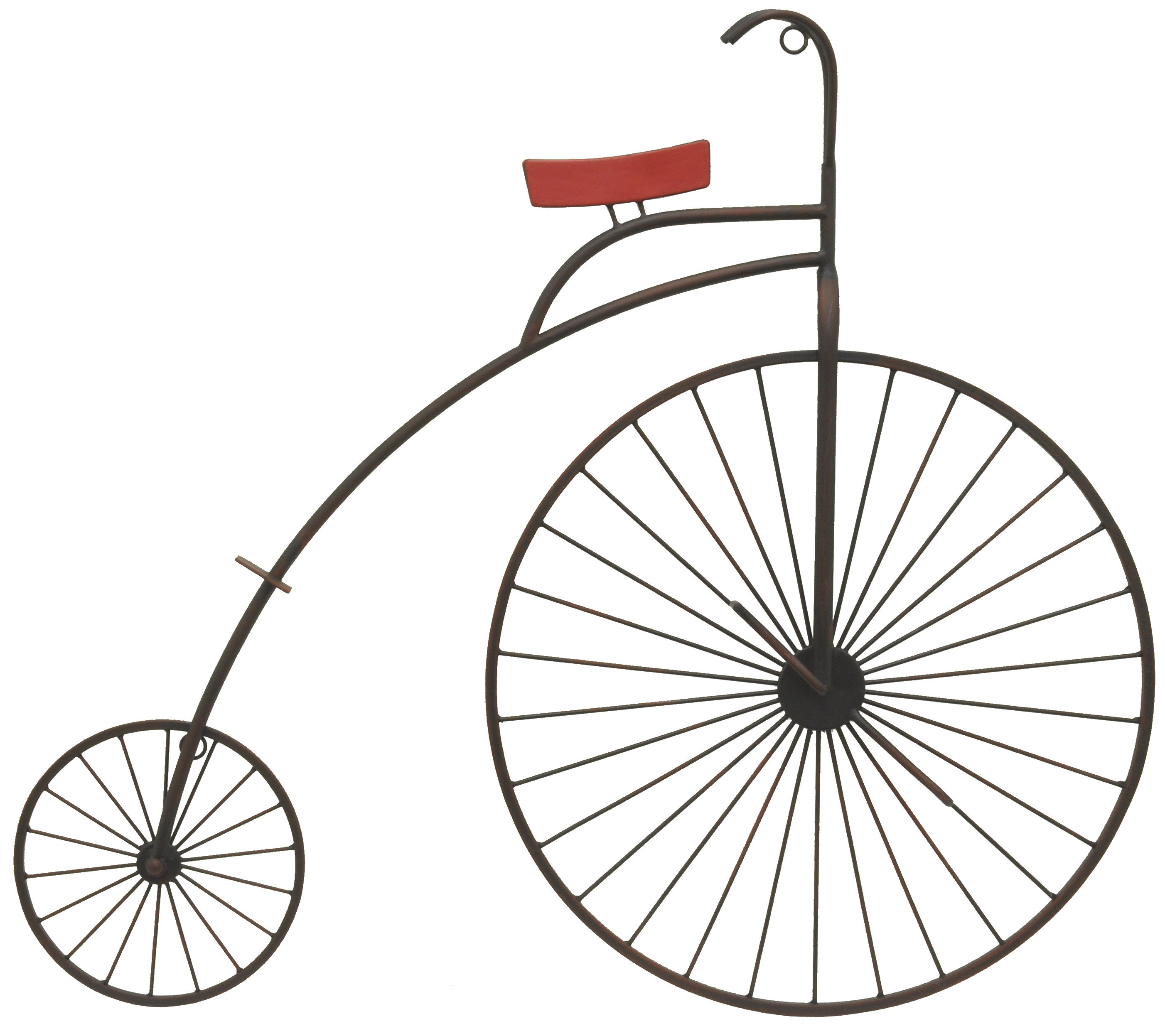 Newest Bike Wall Decor By August Grove Intended For Three Hands Co. Metal Bike Wall Décor (Gallery 15 of 20)