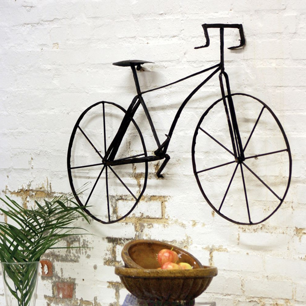 Newest Metal Bicycle Wall Decor Throughout Furniture And Décor For The Modern Lifestyle (View 16 of 20)