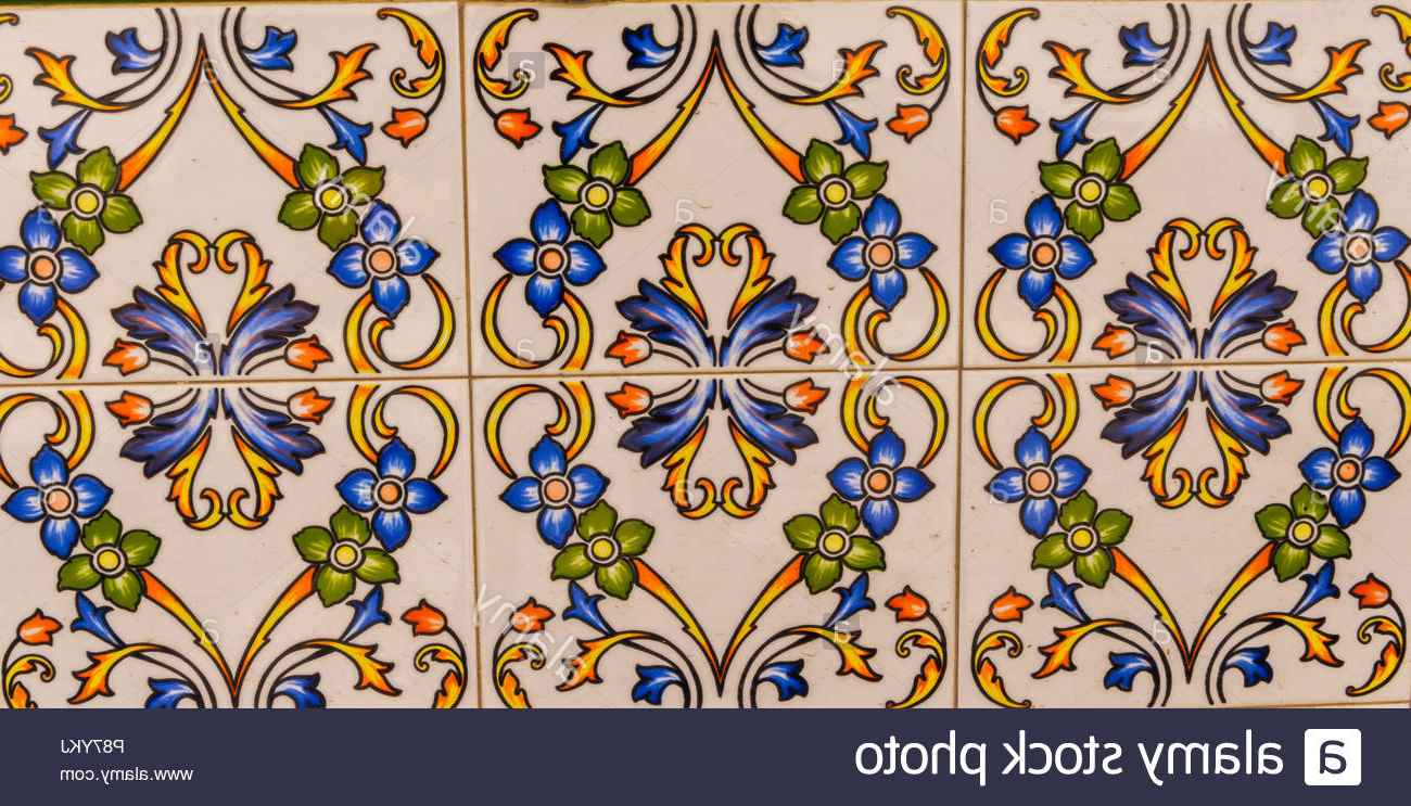 Newest Spanish Ornamental Wall Decor For Traditional Ornamental Spanish Decorative Tiles, Original Ceramic (Gallery 2 of 20)