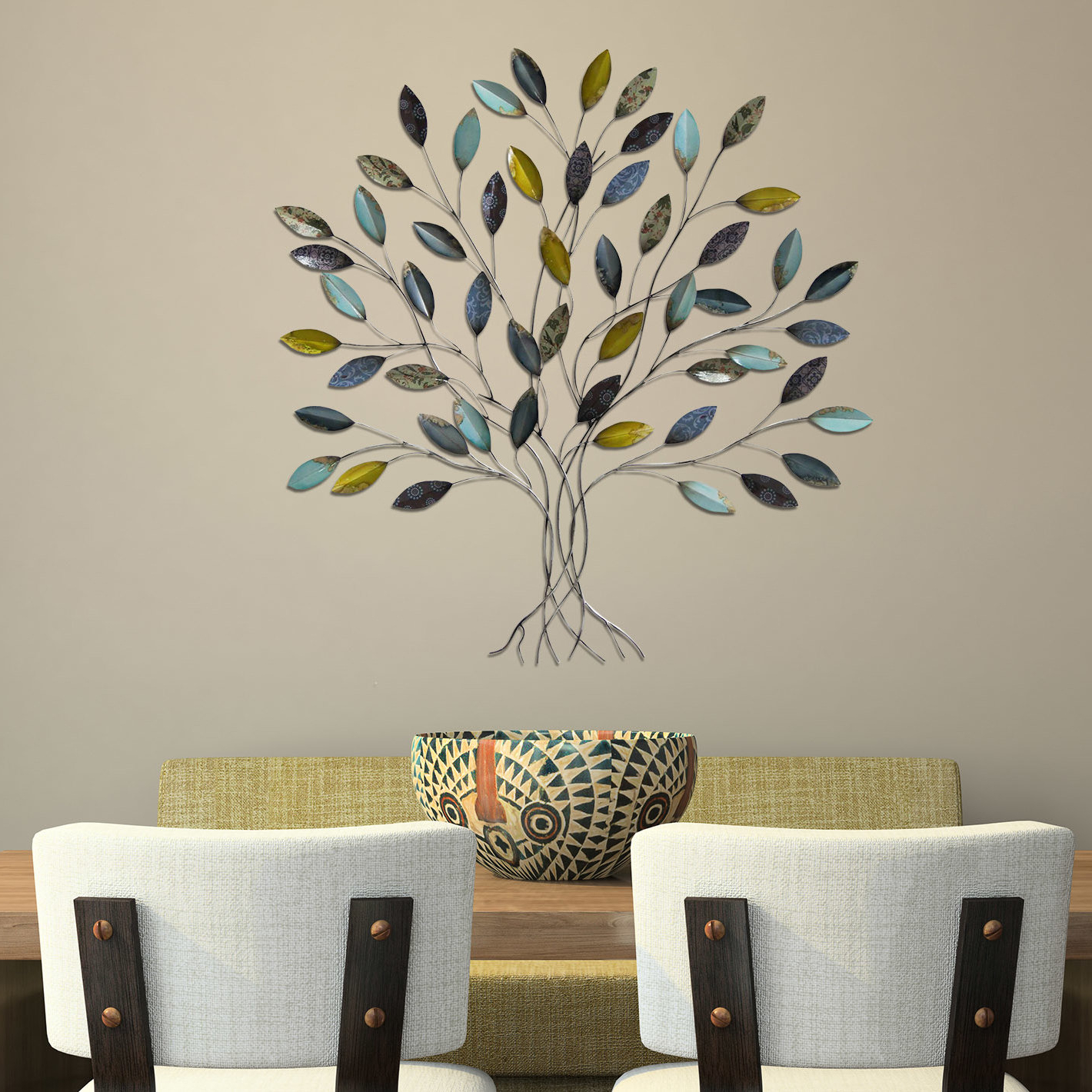 Newest Tree Of Life Wall Decor By Red Barrel Studio Regarding Winston Porter Tree Wall Décor & Reviews (View 11 of 20)