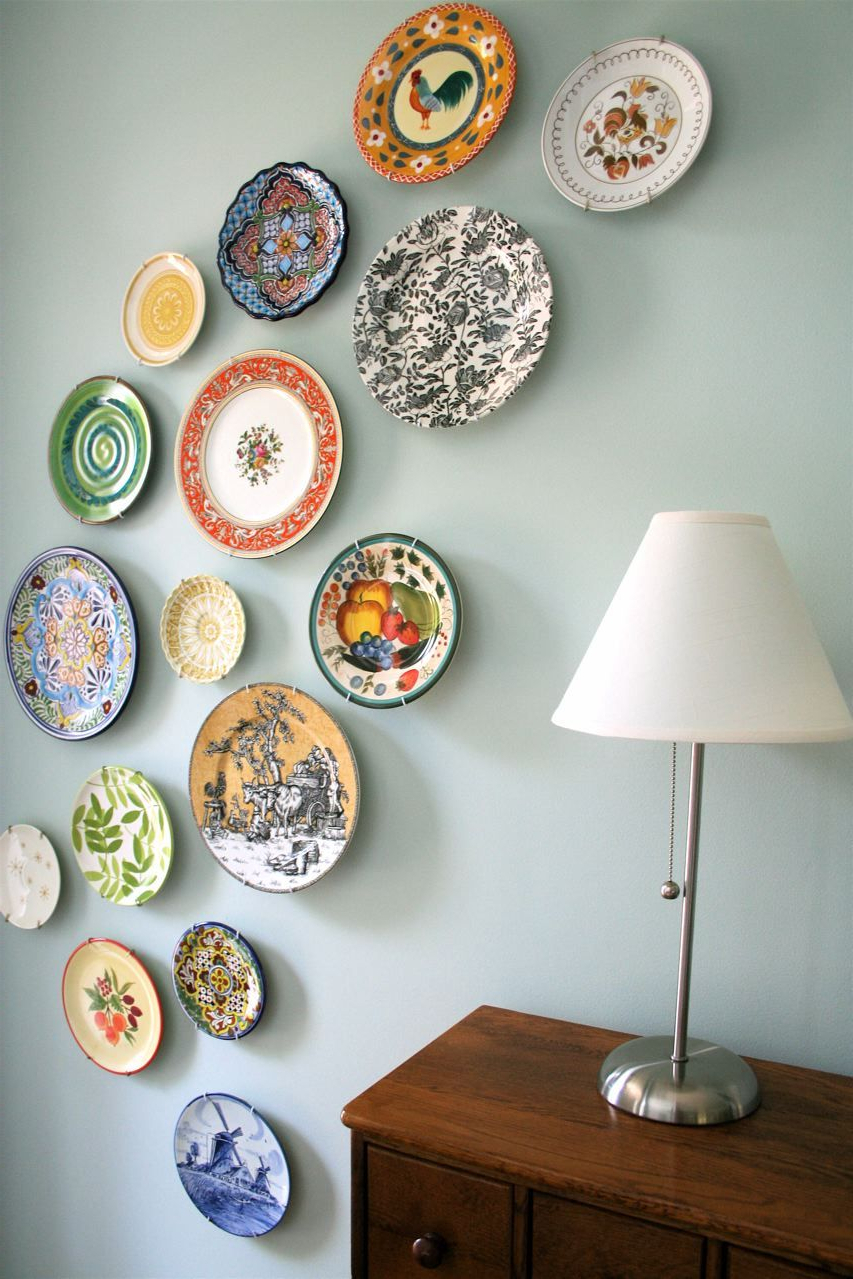 Newest Wall Plates Decor – Pmpresssecretariat With Regard To Scattered Metal Italian Plates Wall Decor (View 5 of 20)