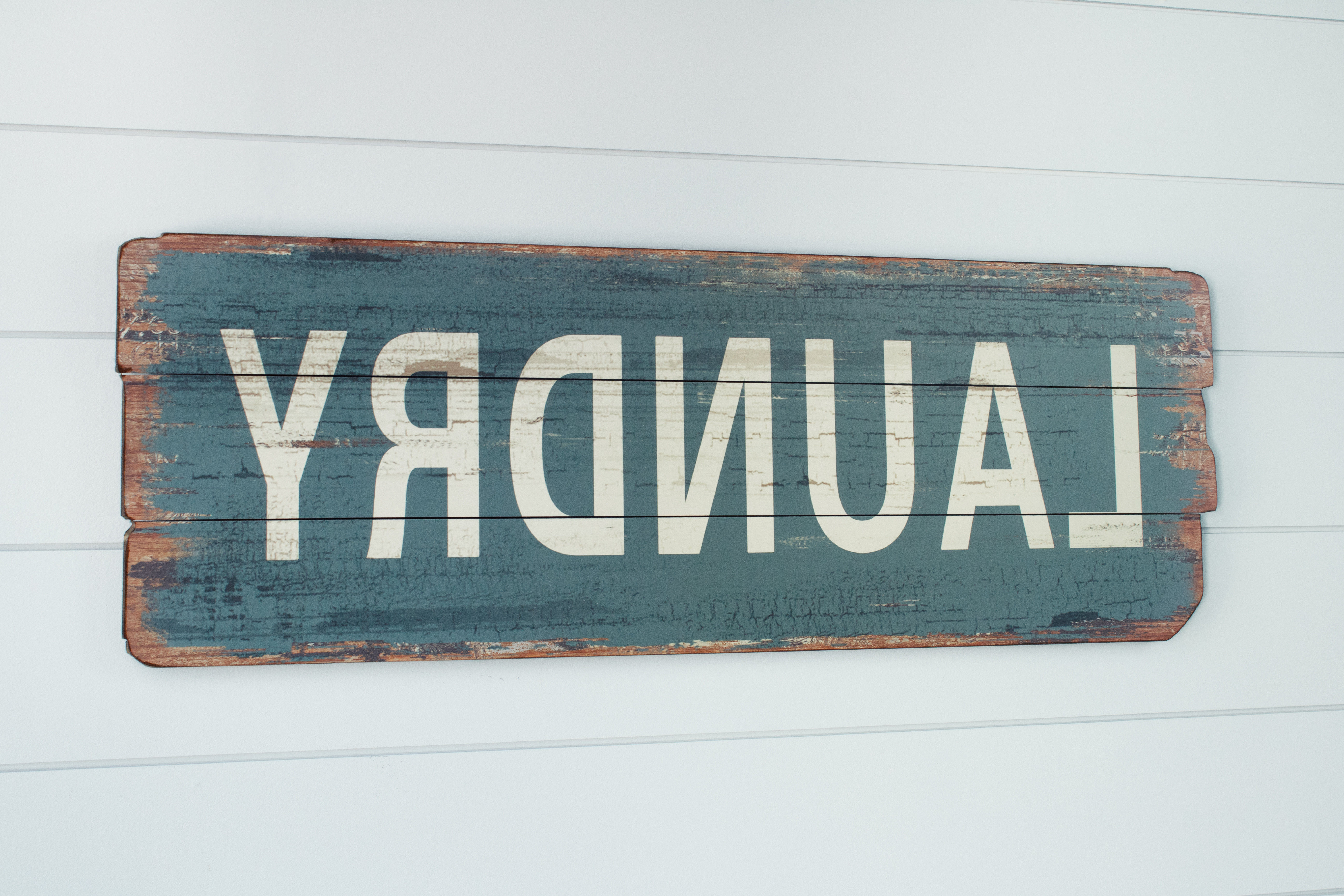 Nora Lane Rustic Laundry Wood Sign Wall Decor & Reviews (View 11 of 20)