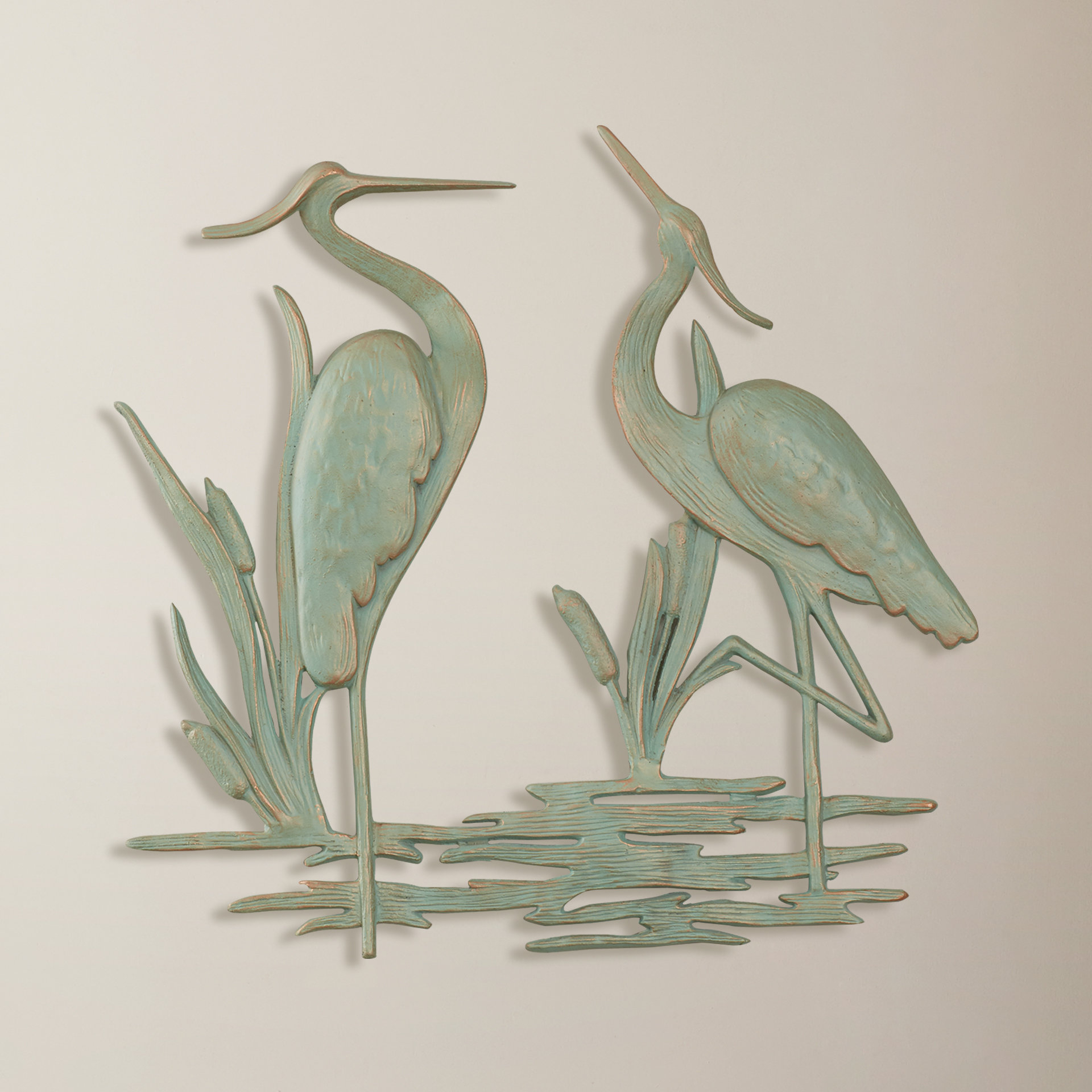 Osceola Double Heron Wall Decor Throughout Well Known Beachcrest Home Osceola Double Heron Wall Décor & Reviews (View 1 of 20)