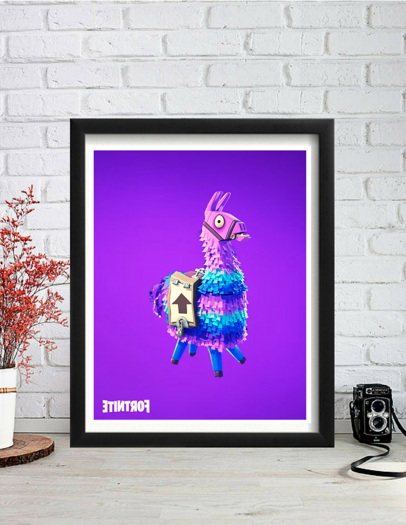 Popular Dance Of Desire Wall Decor Regarding Fortnite, Fortnite Poster, Loot Llama, Fortnite Meme, Fortnite Dance (View 15 of 20)
