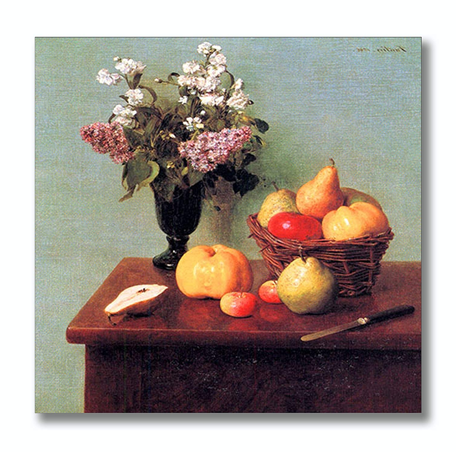 Popular Latour Wall Decor Within Amazon: Latour #1 (Fantin) Aluminum Metal Photo Print Wall Art (View 16 of 20)
