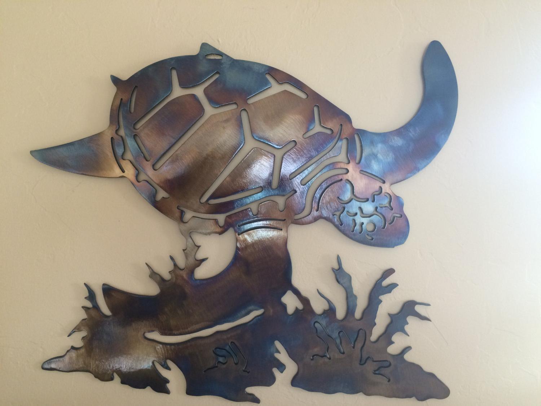 Sea Turtle Wall Art – Pmpresssecretariat Pertaining To Most Popular Rhys Turtle Decor Wall Decor (Gallery 13 of 20)