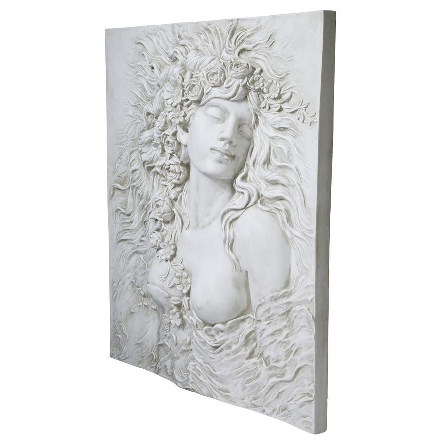 Shop Design Toscano Shakespeare's Ophelia's Desire Wall Sculpture Regarding Famous Dance Of Desire Wall Decor (View 17 of 20)