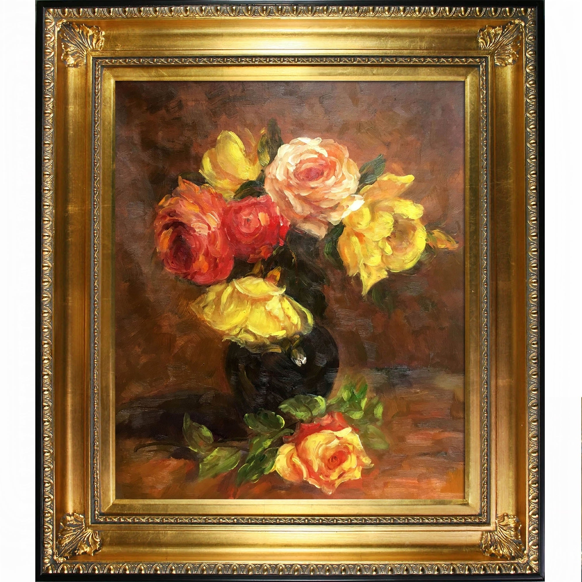 Shop La Pastiche White And Pink Roseshenri Fantin Latour With With Famous Latour Wall Decor (View 15 of 20)