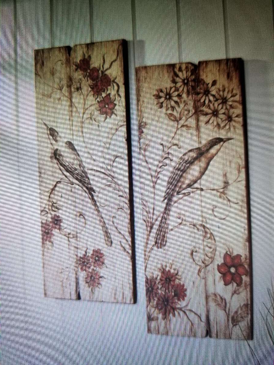 Sign Wall Decor By Charlton Home Pertaining To Most Recently Released New Charleston Home Bird Red Floral Scroll Wooden Wall Art Decor (View 14 of 20)