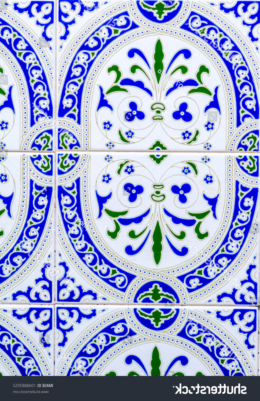 Spanish Ornamental Wall Decor For Well Liked Traditional Ornamental Spanish Decorative Tiles Original Stock Photo (View 7 of 20)
