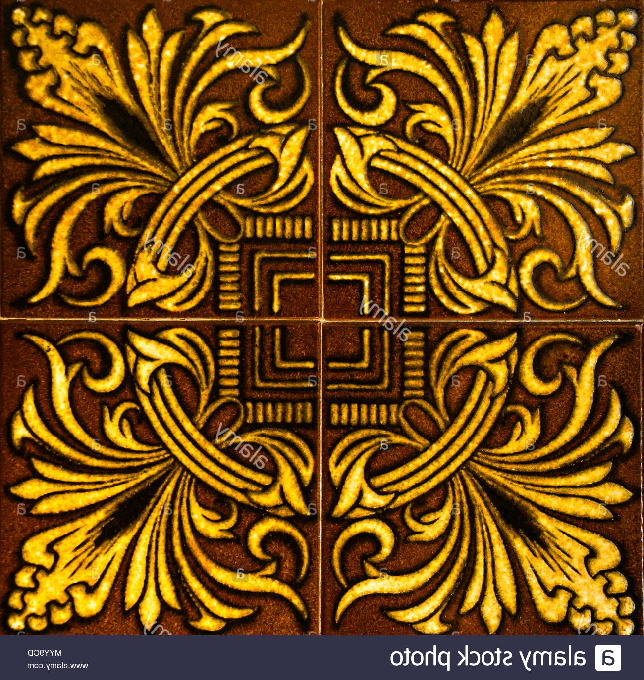 Spanish Ornamental Wall Decor Within Latest Traditional Ornamental Spanish Decorative Tiles, Original Ceramic (View 12 of 20)