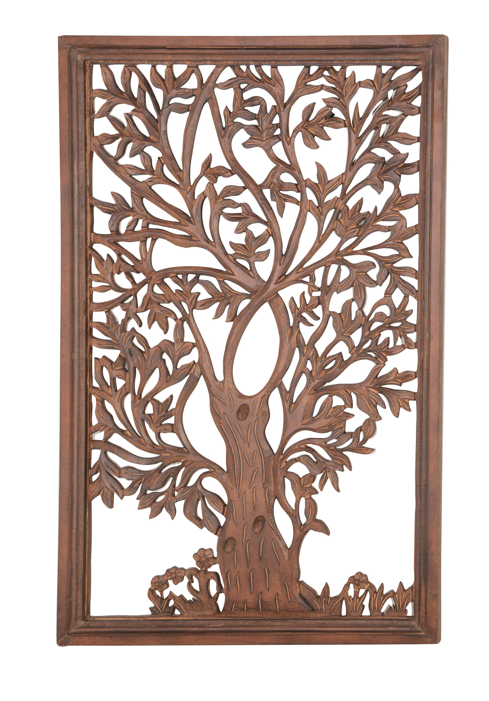 Tree Of Life Wall Decor By Red Barrel Studio In Well Liked Red Barrel Studio Rectangular Wood Carved Tree Wall Decor (View 14 of 20)