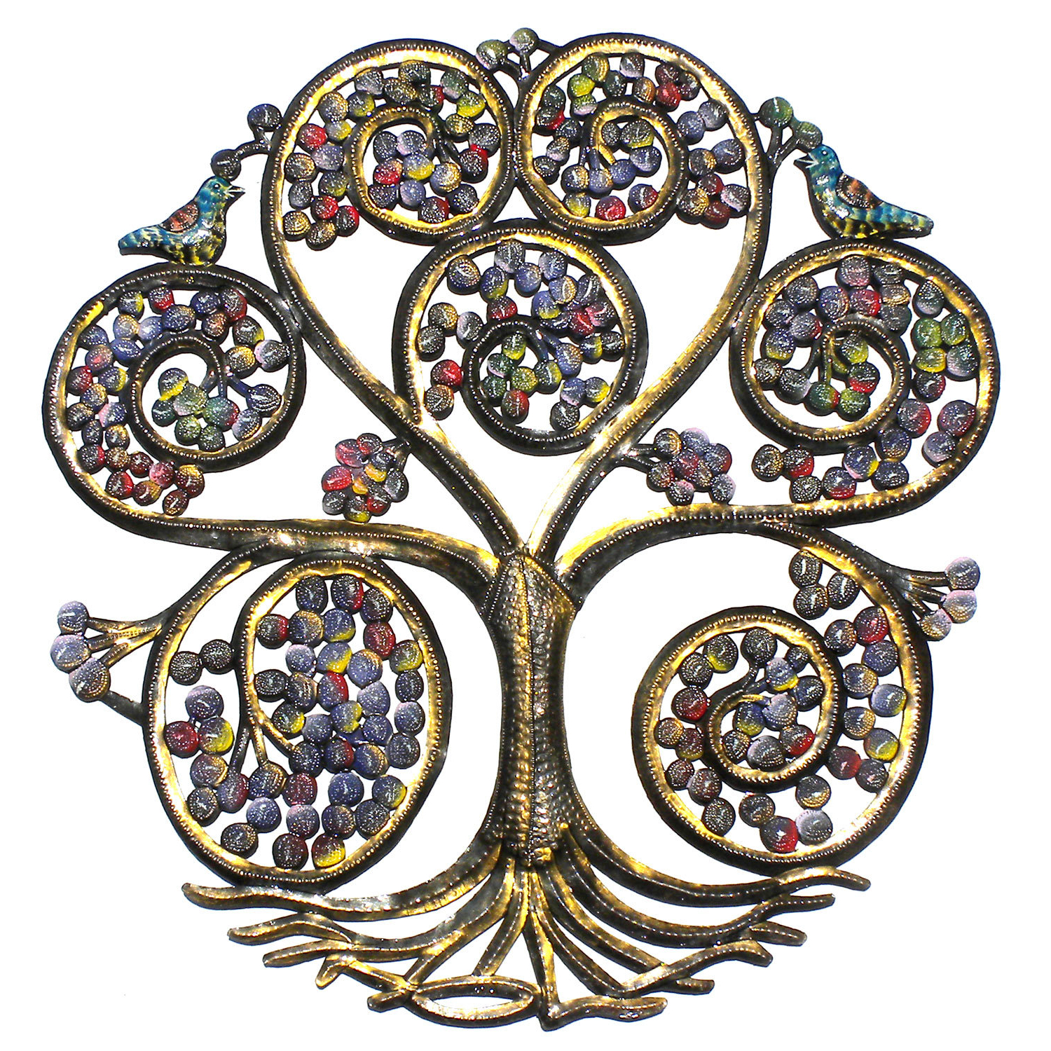 Tree Of Life Wall Decor By Red Barrel Studio With Regard To Most Popular Fleur De Lis Living Spiral Tree Of Life Wall Décor (View 15 of 20)