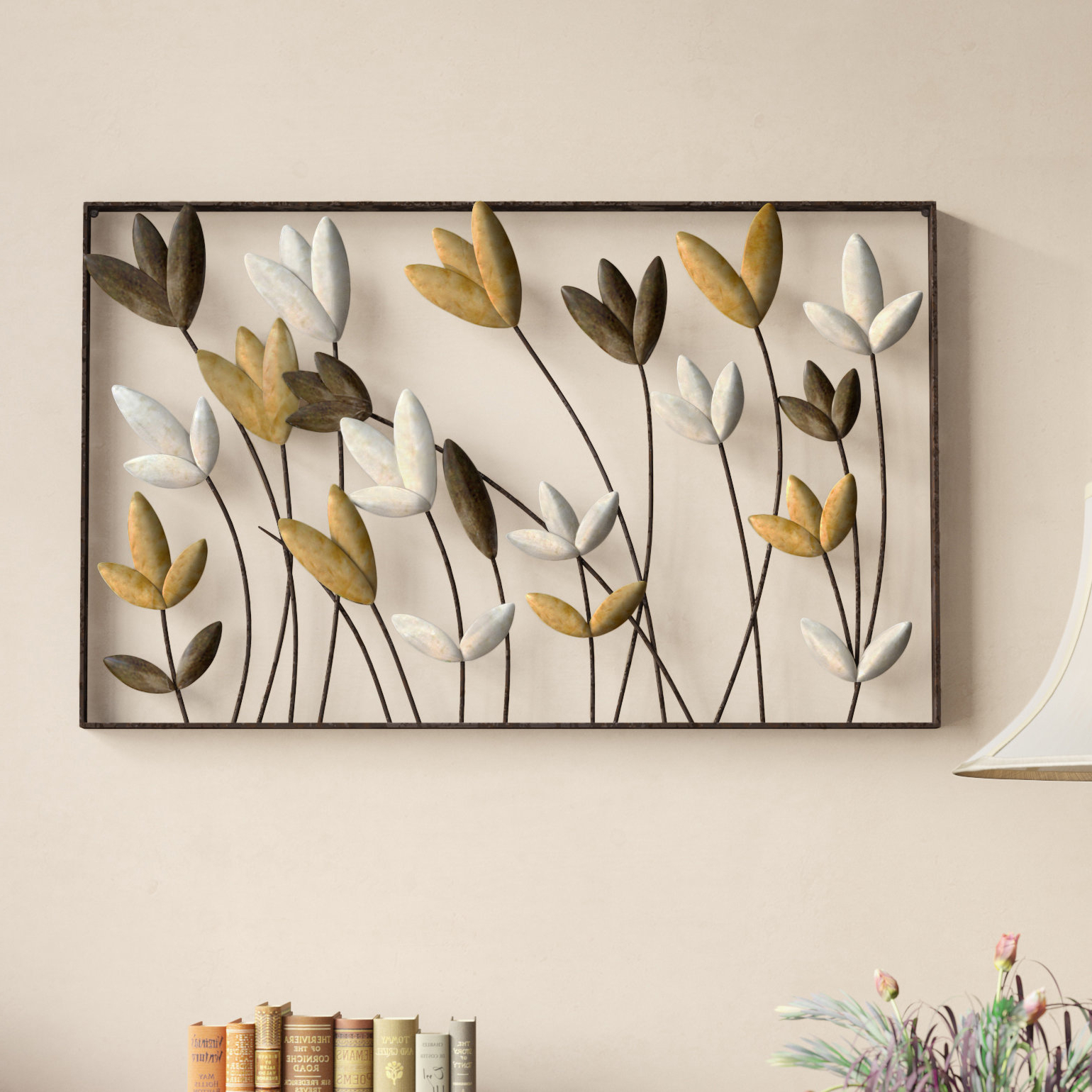 Tree Of Life Wall Decor By Red Barrel Studio Within Trendy Red Barrel Studio Metal Flowers Wall Décor & Reviews (Gallery 6 of 20)