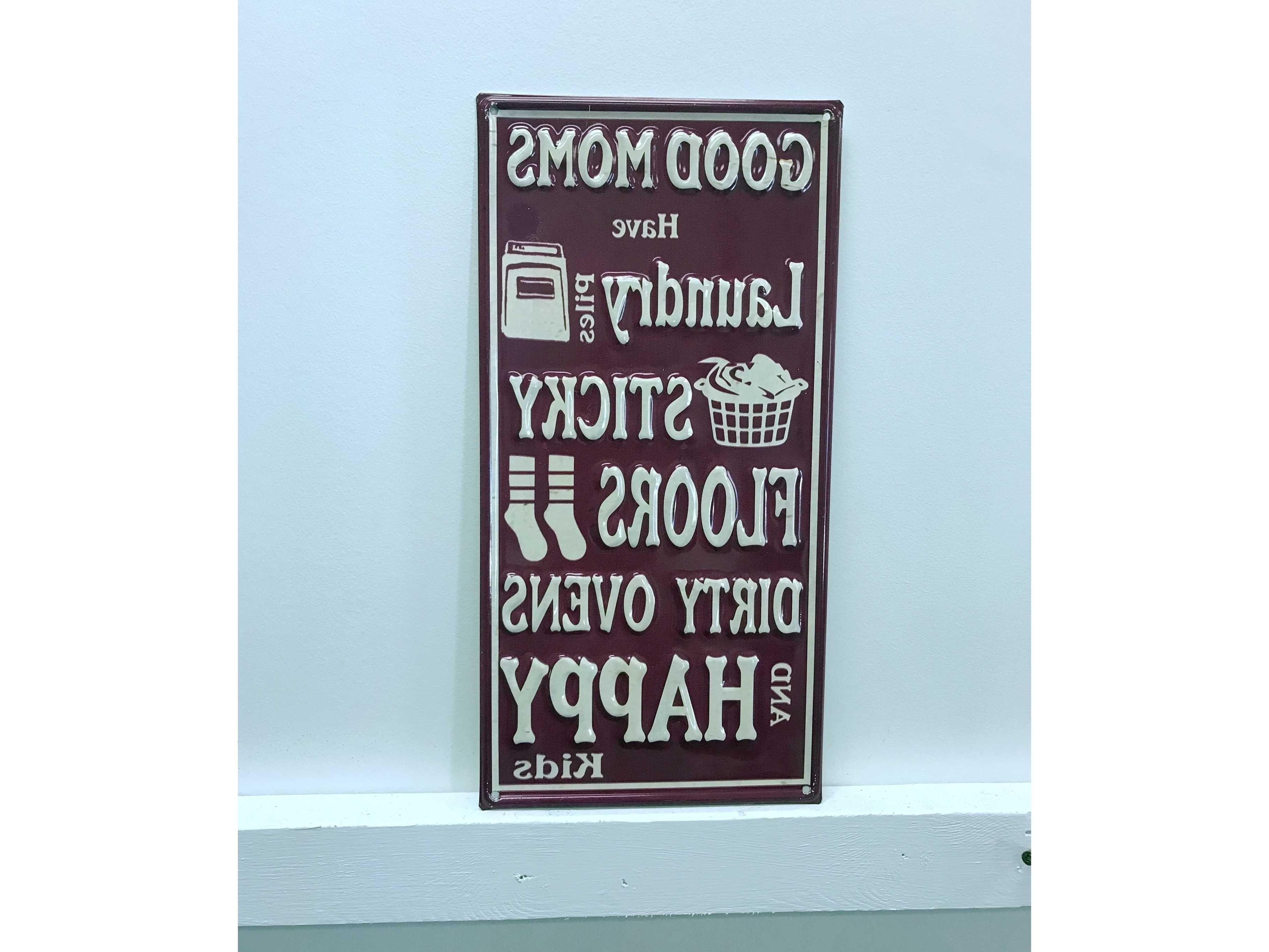 Trendy Faith, Hope, Love Raised Sign Wall Decor By Winston Porter With Regard To Winston Porter Good Mom Vintage Metal Wall Décor (View 6 of 20)