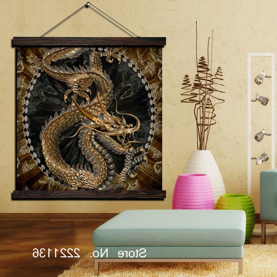 [%Us $15.29 27% Off|Golden Chinese Dragon Print Scroll Paintings Wall Art  Printed Hanging Framed Canvas Painting Modern Home Decoration In Painting & With Regard To Most Up To Date Scroll Framed Wall Decor|Scroll Framed Wall Decor Pertaining To Most Current Us $15.29 27% Off|Golden Chinese Dragon Print Scroll Paintings Wall Art  Printed Hanging Framed Canvas Painting Modern Home Decoration In Painting &|Most Recent Scroll Framed Wall Decor For Us $15.29 27% Off|Golden Chinese Dragon Print Scroll Paintings Wall Art  Printed Hanging Framed Canvas Painting Modern Home Decoration In Painting &|2019 Us $ (View 1 of 20)