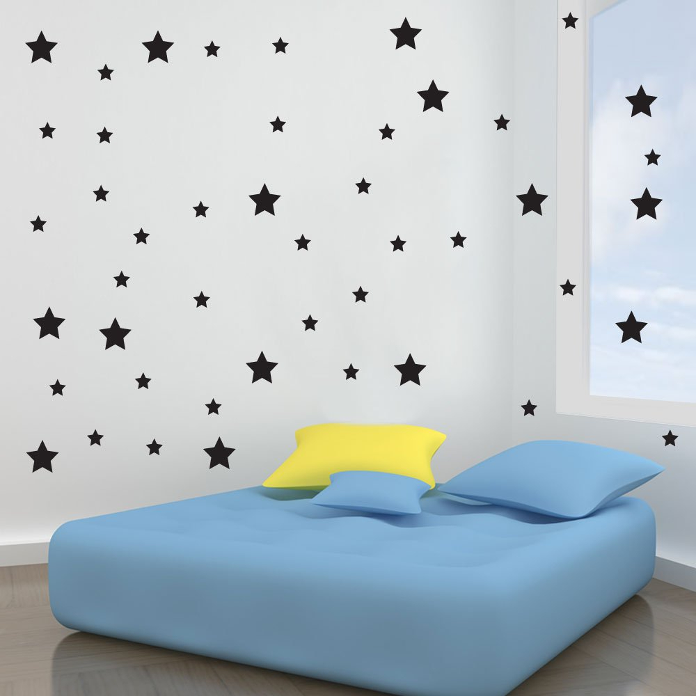 Vinyl Concept – Star Wall Stickers, Removable, Easy To Remove, Art Pertaining To 2019 Raised Star Wall Decor (View 15 of 20)