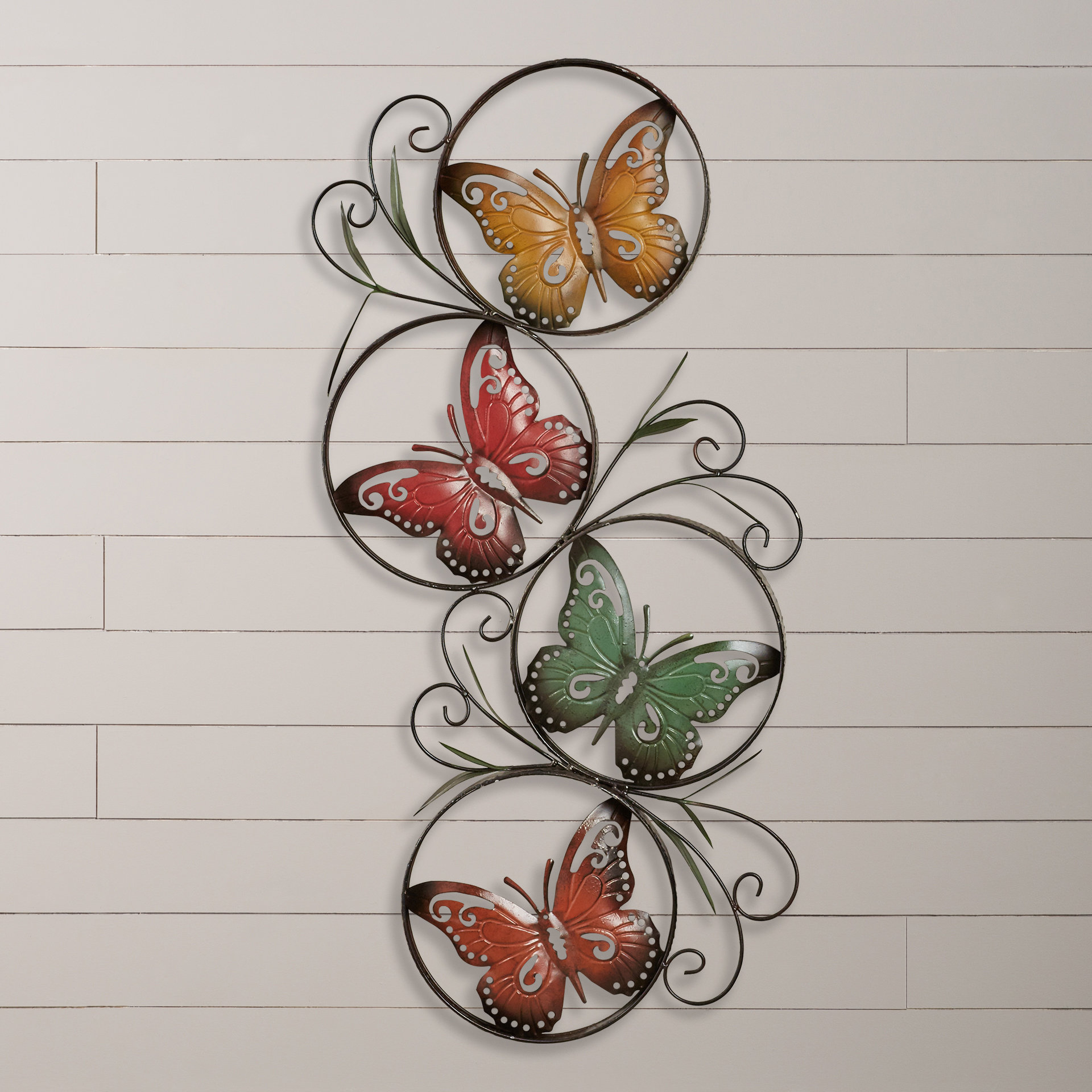 Wayfair For Most Current Ila Metal Butterfly Wall Decor (Gallery 1 of 20)
