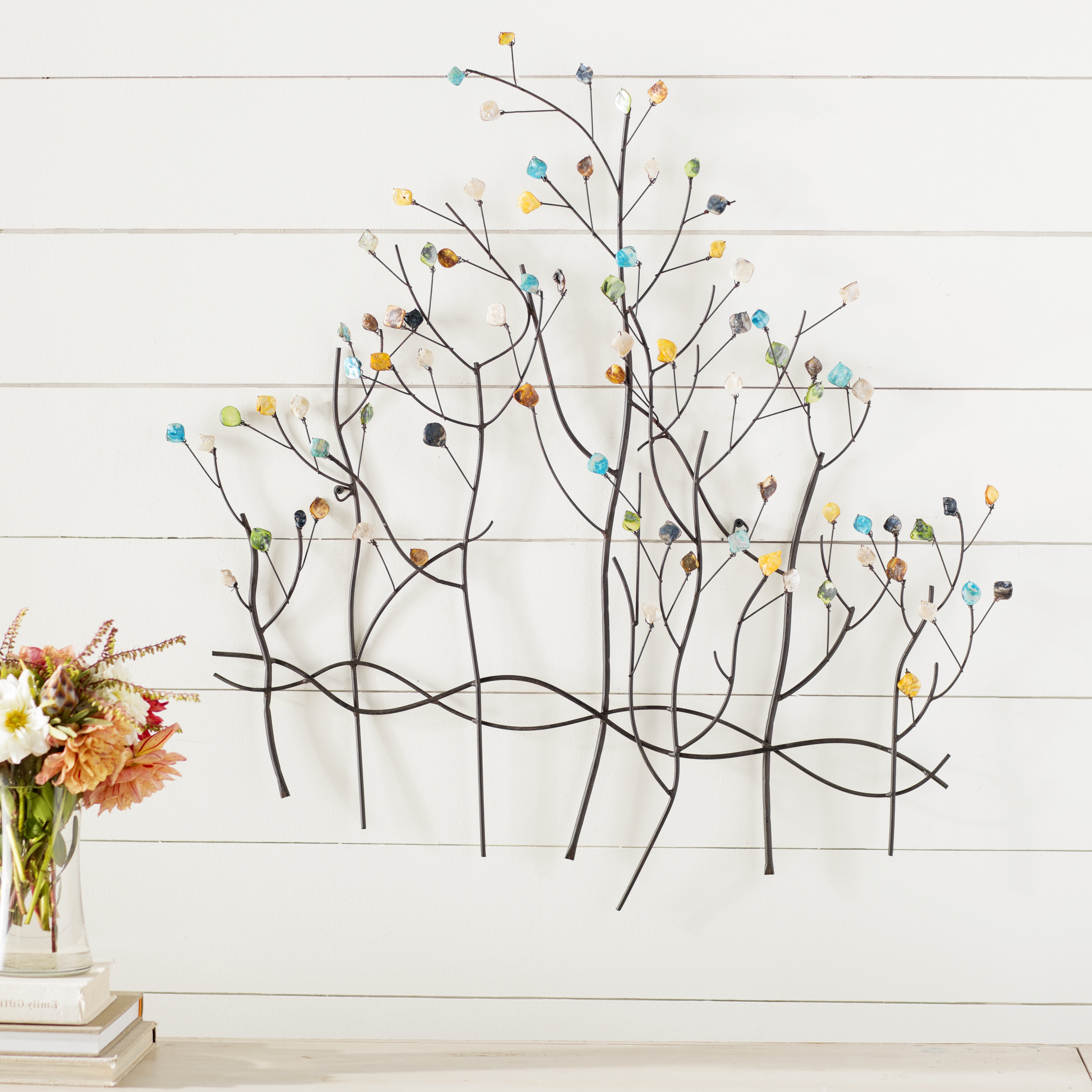 Wayfair In Contemporary Forest Metal Wall Decor (Gallery 2 of 20)