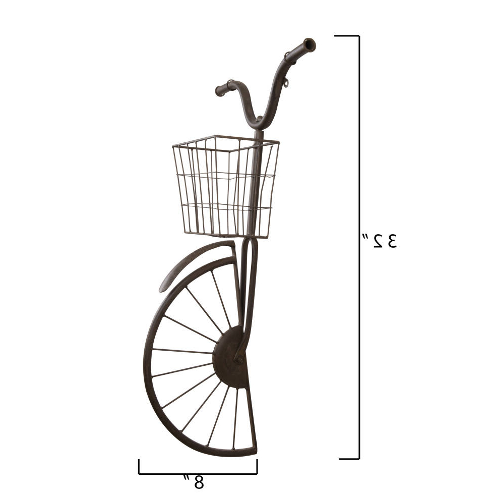 Wayfair Pertaining To Current Bike Wall Decor By August Grove (View 10 of 20)