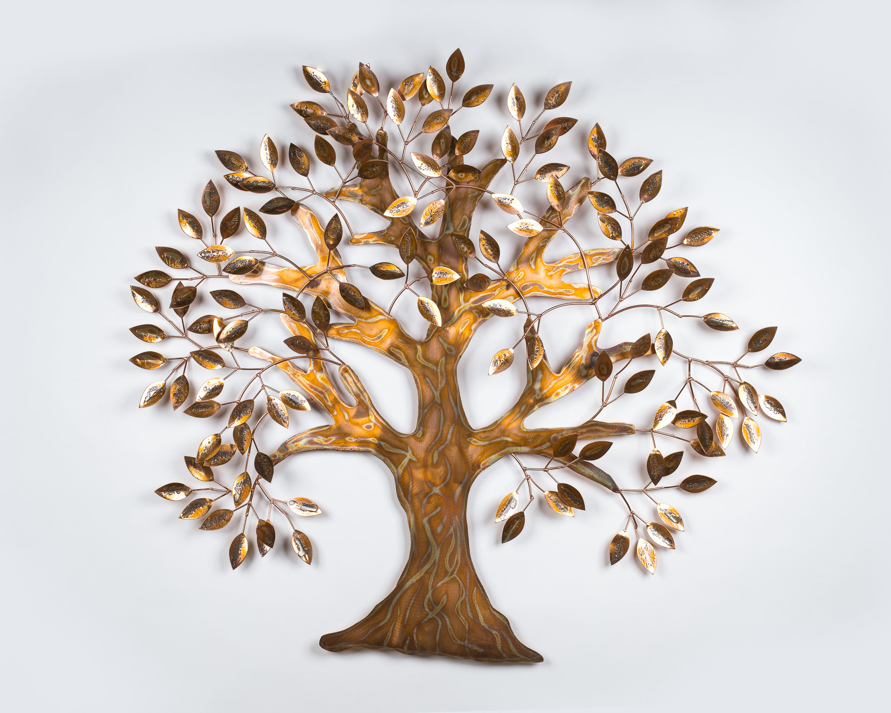 Wayfair Pertaining To Leaves Metal Sculpture Wall Decor By Winston Porter (View 14 of 20)