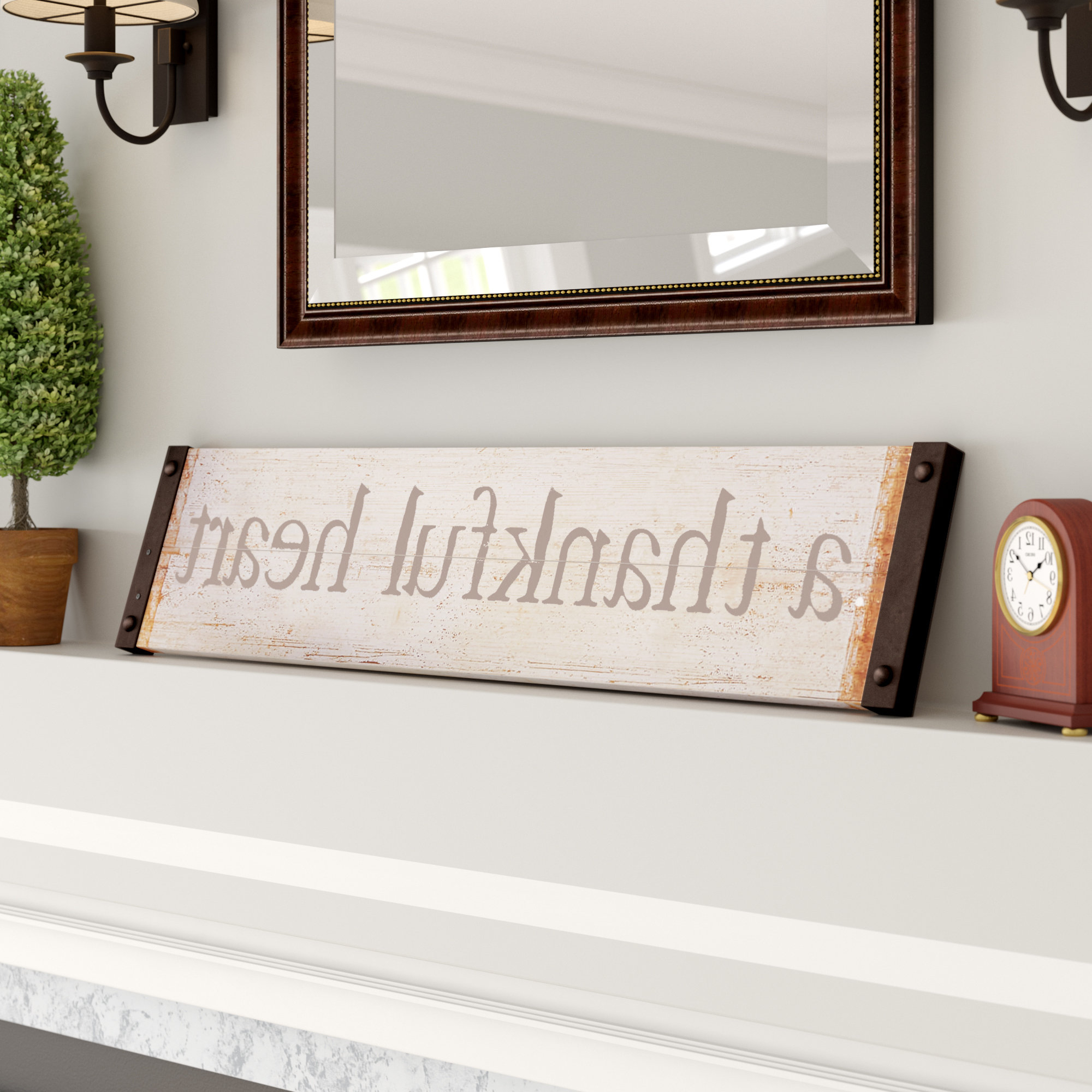Wayfair Pertaining To Trendy Fawcett Thankful Heart Wall Decor (View 17 of 20)