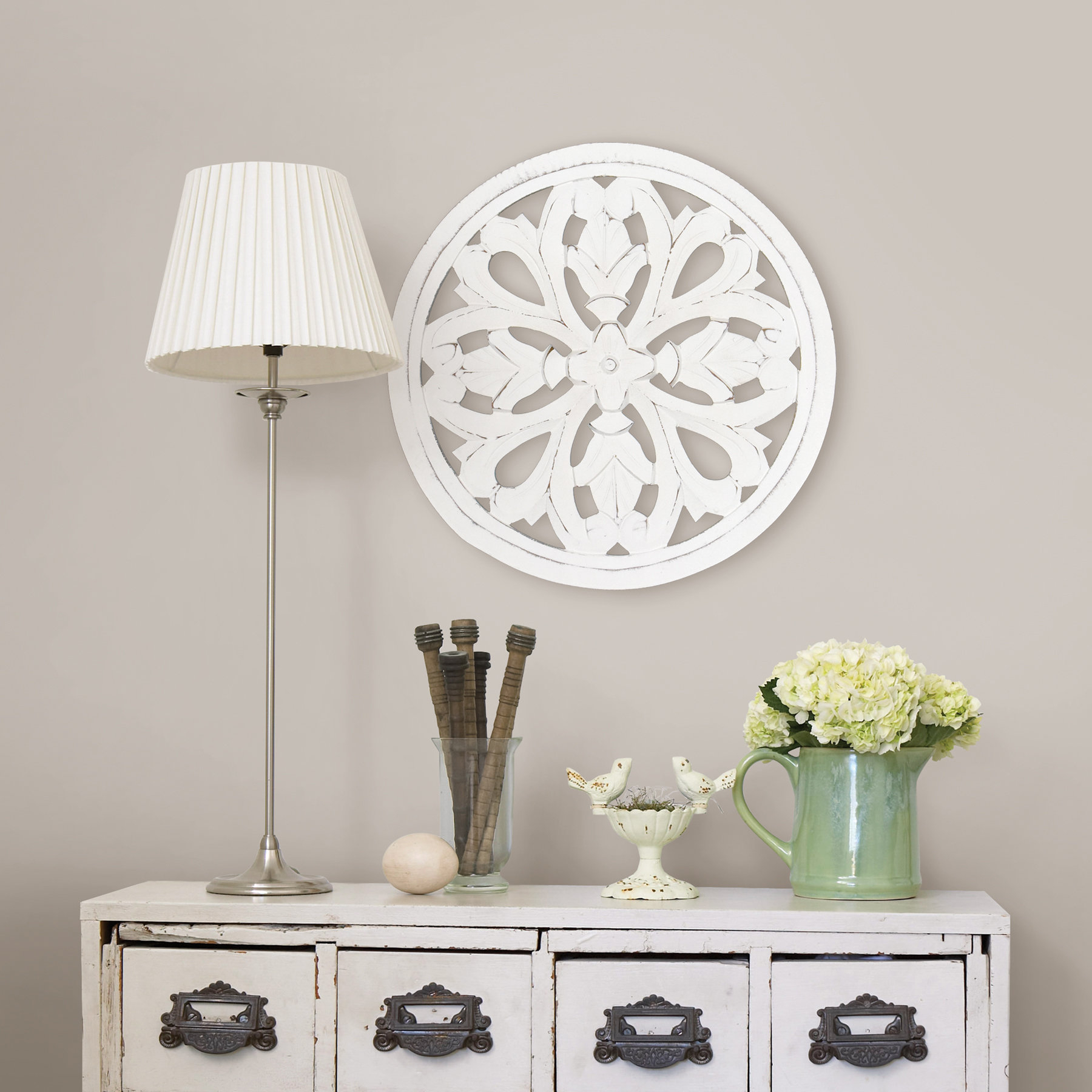 Wayfair With Regard To Preferred Shabby Medallion Wall Decor (View 17 of 20)
