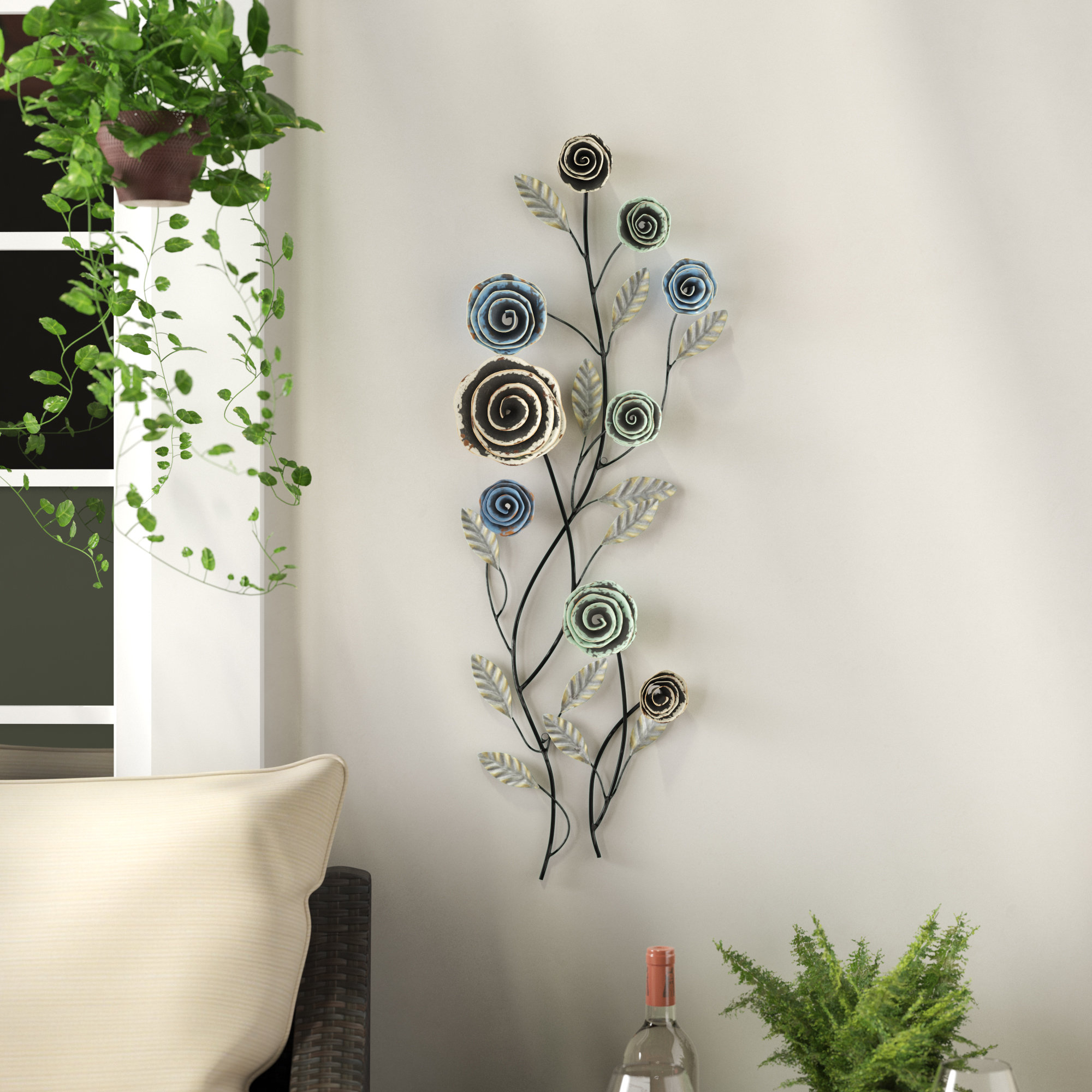 Wayfair With Regard To Trendy Contemporary Iron Leaves Wall Decor By Winston Porter (View 18 of 20)