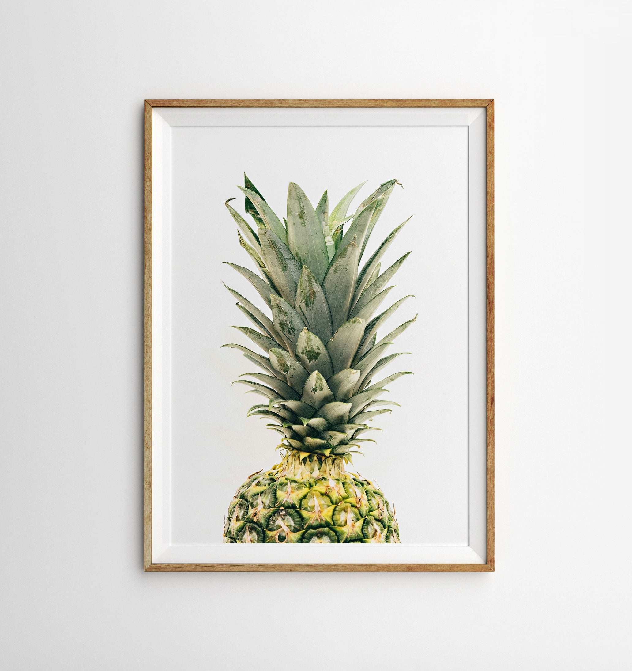 Well Known Pineapple Wall Decor With Regard To Pineapple Print Pineapple Wall Art Pineapple Decor Tropical (View 4 of 20)