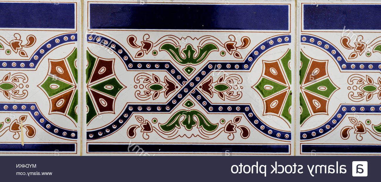Well Known Traditional Ornamental Spanish Decorative Tiles, Original Ceramic Intended For Spanish Ornamental Wall Decor (Gallery 8 of 20)
