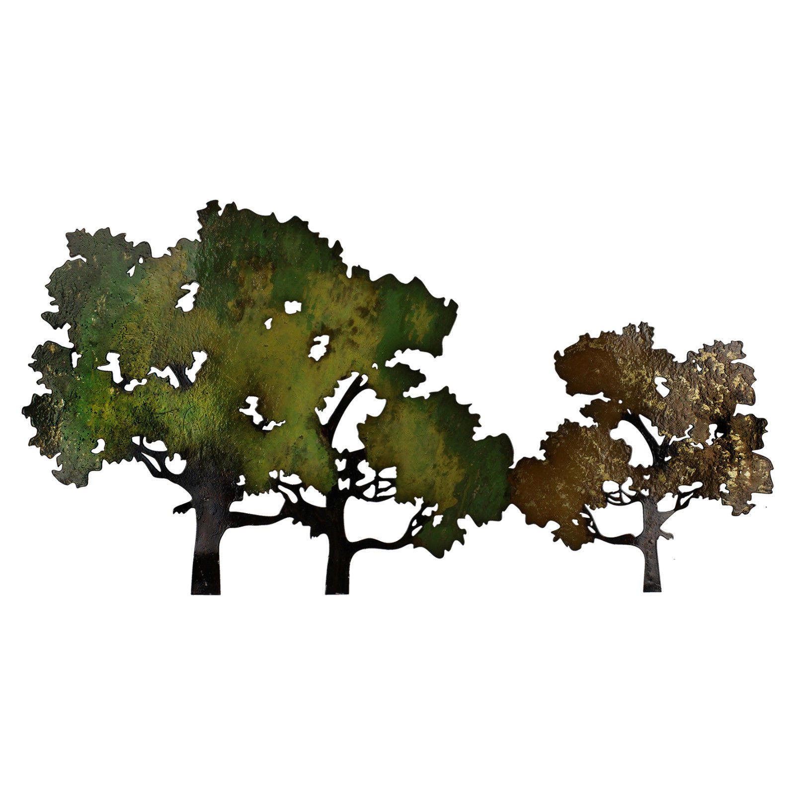 Well Liked Contemporary Forest Metal Wall Decor Pertaining To Contemporary Forest Metal Wall Art Decoration 41 X 77Cm (Gallery 7 of 20)