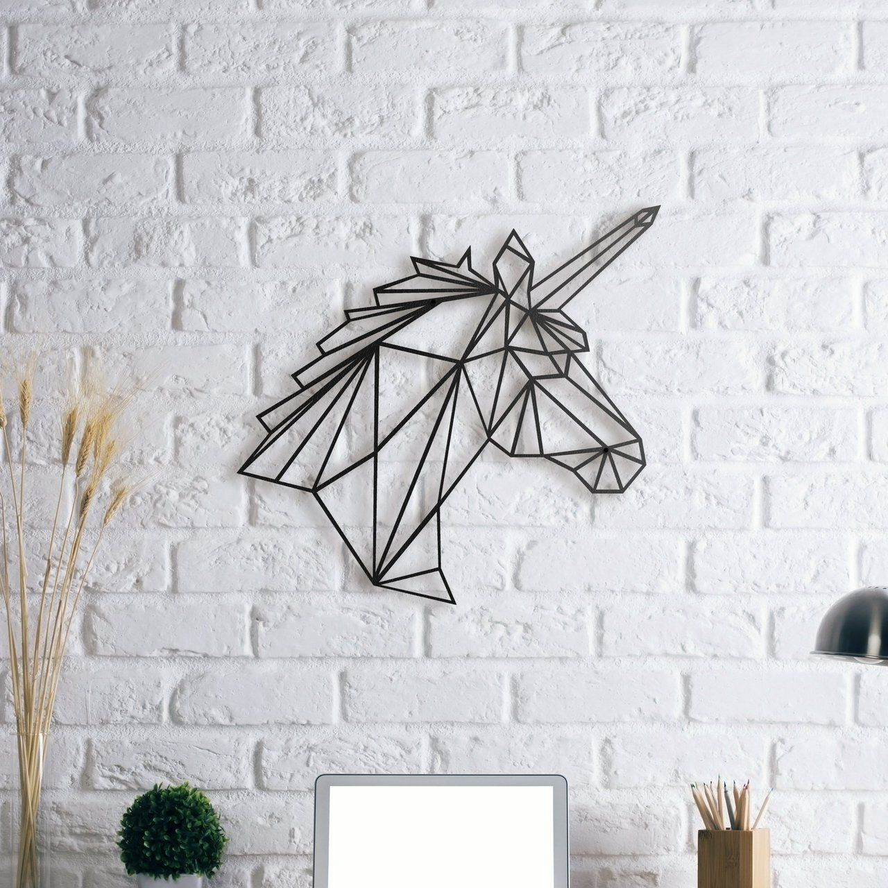 Well Liked Metal Wall Decor By Ebern Designs Intended For Unicorn Metal Wall Art (View 18 of 20)