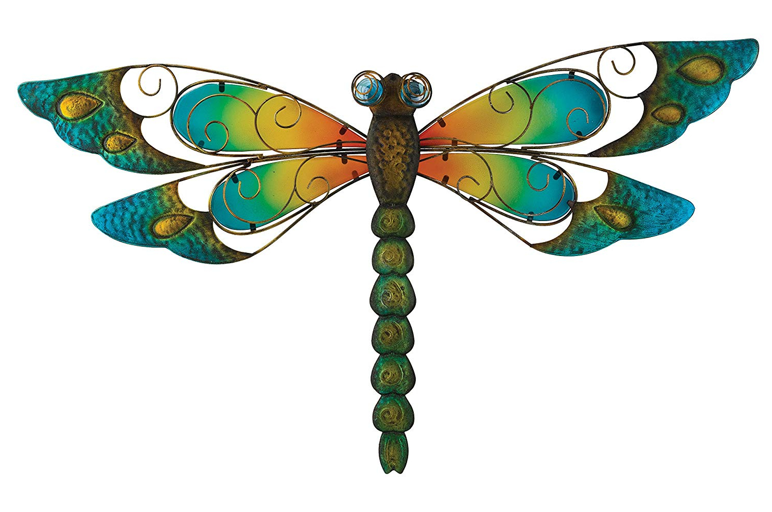 Widely Used Dragonfly Wall Decor Regarding Amazon : Regal Art &gift Dragonfly Wall Decor, 29 Inch, Blue (View 8 of 20)