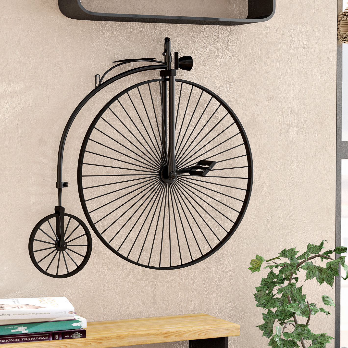 Widely Used Metal Bicycle Wall Decor With Regard To 17 Stories Industrial Metal Bicycle Wall Décor & Reviews (View 4 of 20)