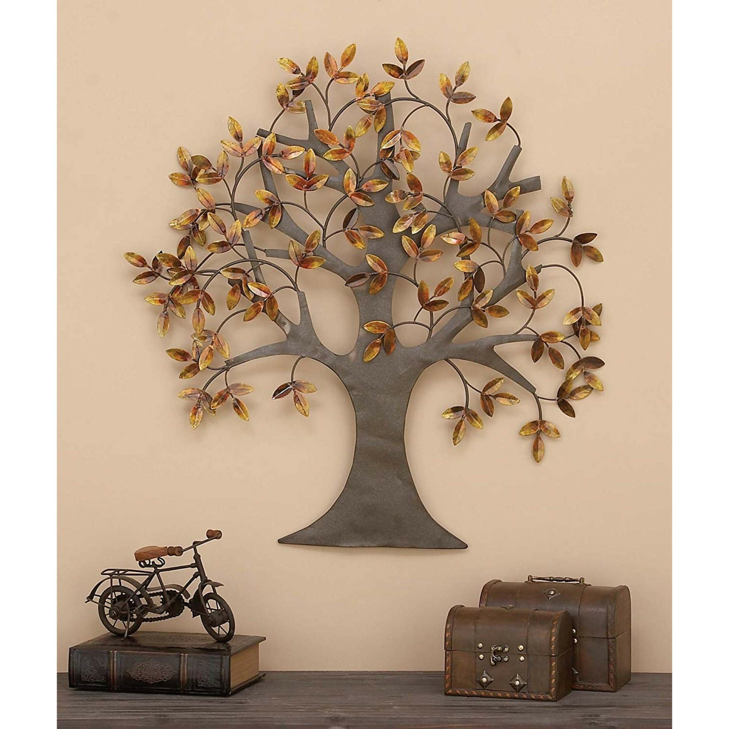Widely Used Raheem Flowers Metal Wall Decor By Alcott Hill Intended For Cole & Grey Arbor Wall Décor & Reviews (View 10 of 20)