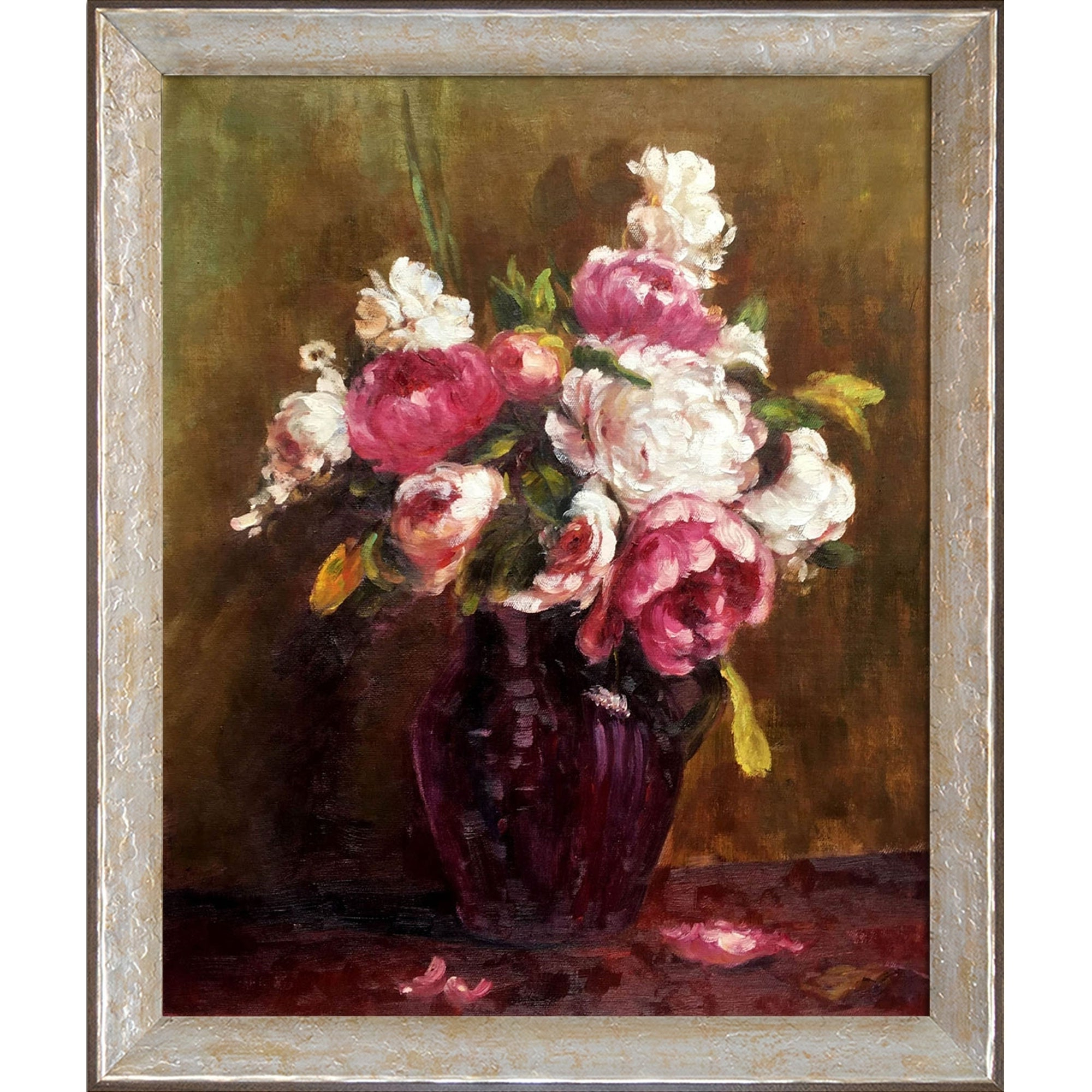 Widely Used Shop La Pastiche White Peonies And Roses, Narcissushenri Fantin With Latour Wall Decor (Gallery 19 of 20)