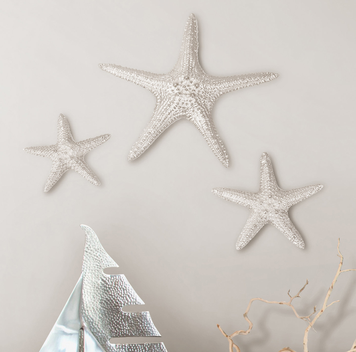 Featured Photo of Yelton 3 Piece Starfish Wall Decor Sets