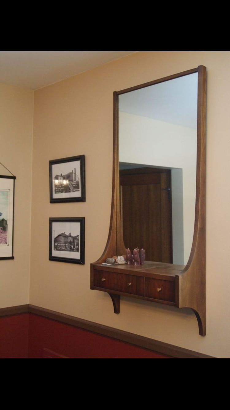 10+ Fearsome Antique Wall Mirror Entryway Ideas In  (View 1 of 20)