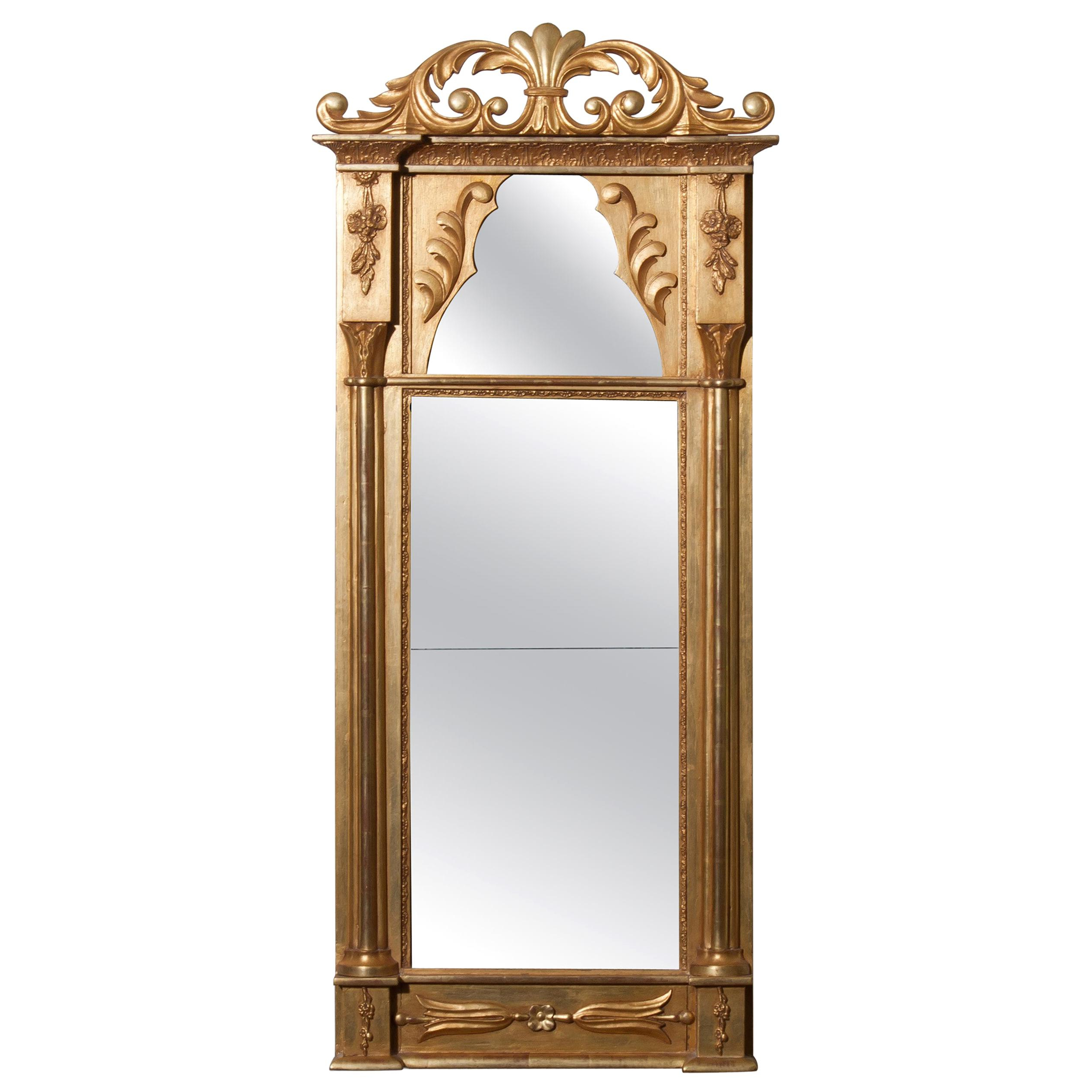 19th Century Wall Mirrors – 2,836 For Sale At 1stdibs For Most Up To Date Modern & Contemporary Beveled Overmantel Mirrors (View 20 of 20)