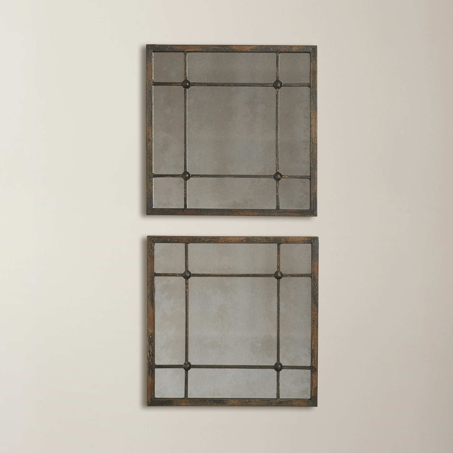 2 Piece Kissena Window Pane Accent Mirror Sets Pertaining To Latest Ophelia & Co (View 5 of 20)